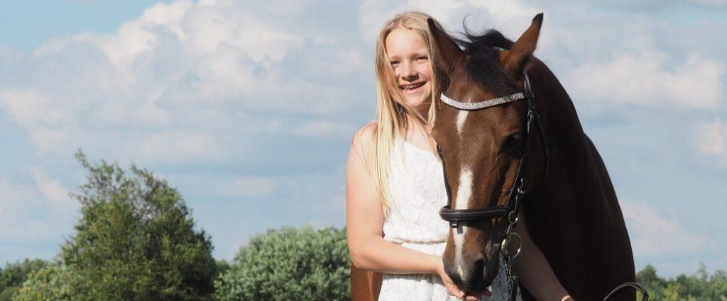 hest i konfirmationsgave